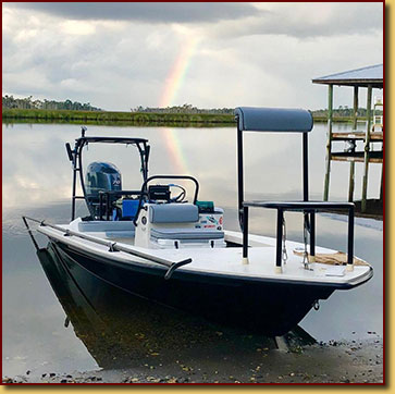 Fly fishing crystal river with capt kyle messier for Fly fishing boats